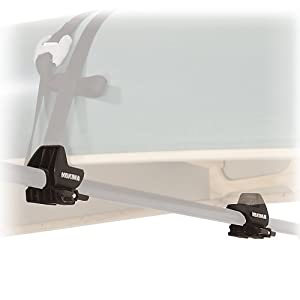 Yakima Gunwale Brackets Rooftop Canoe Carrier with Straps