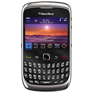 BlackBerry Curve 3G 9300 on O2 Pay As You Go with £10 airtime credit