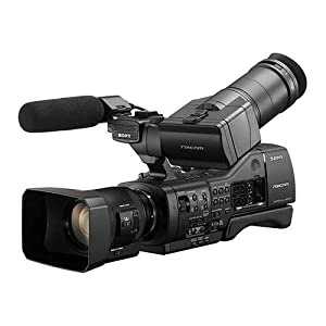 Sony NEX-EA50UH Professional Camcorder with 18-200mm Servo Zoom Lens