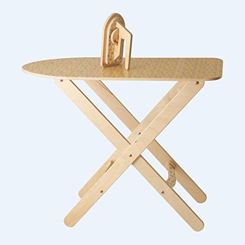 Dida - Bügelbrett mit Bügeleisen in Holz - Spiel der Imitation