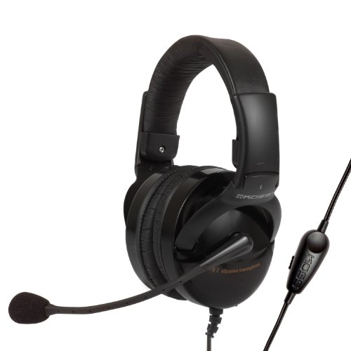 [Domestic Regular Article] Koss Sealed Gaming Headset With Vibration Function Hq2 (Japan Import)