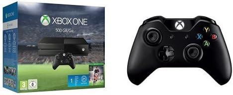 Pack Xbox One + Fifa 16 + 2ème manette sans fil Xbox One + câble pour PC