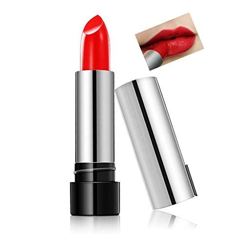 Aucun des produits chimiques toxiques,DISINO Maquillage cosmétique Matte Tout Glam Waterproof Brillance Naturelle Brilliance Liquid Long Lasting Lipstick Lip Gloss - Retro Rouge