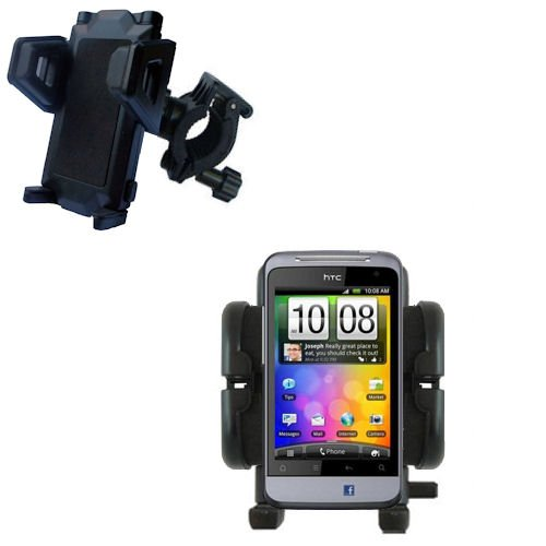 Bike Handlebar Holder Mount System for the HTC Salsa - Gomadic Brand
