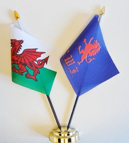 british-army-royal-welch-fusiliers-e-amicizia-motivo-bandiera-del-galles-display-da-25-cm-2540-10-cm