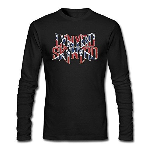 Grossbull Lynyrd Skynyrd Men's Eagle W/ Guitars T-shirt Black Medium