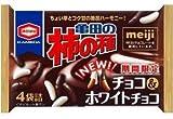 亀田の柿の種 チョコ&ホワイトチョコレート 77g 4袋詰×12袋