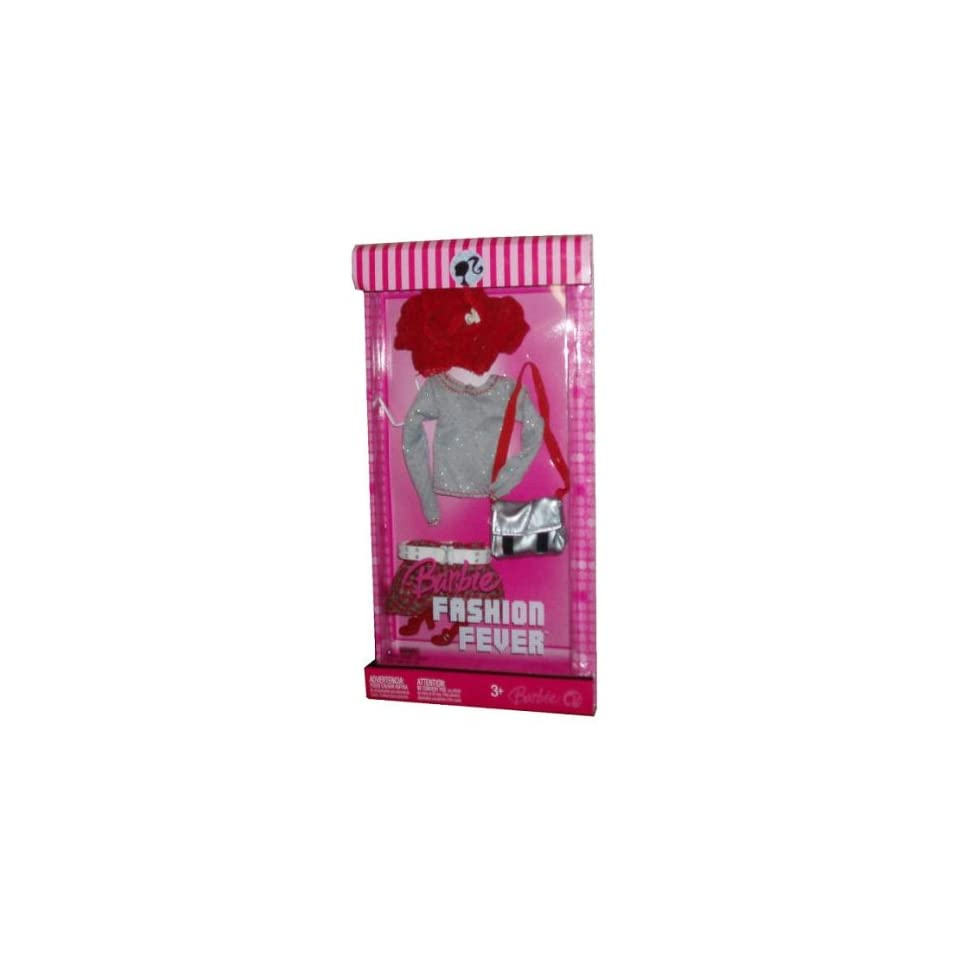 49970b976 Mattel Barbie Clothes Fashion Fever Set L3369 on PopScreen