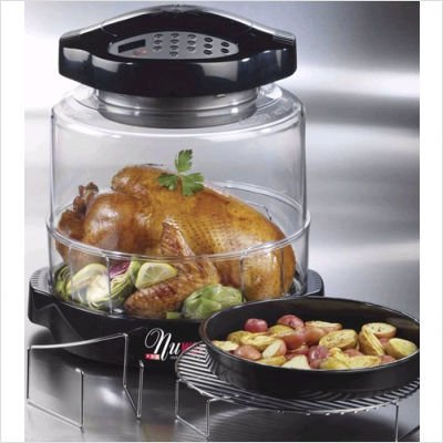 NuWave Oven: Pro Digital Black with Extender Ring