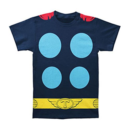 Marvel Thor Suit with Cape Big Print Subway Costume Tee