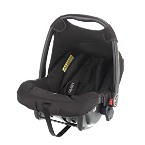 Obaby Group 0+ Car Seat with Chase Adaptor (Black)