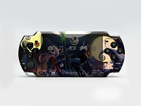 THE NIGHTMARE BEFORE CHRISTMAS PSP (Slim) Dual Colored Skin Sticker, PSP 2000