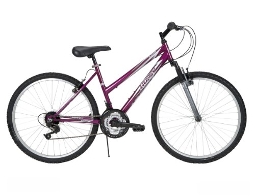 Huffy Women's Alpine Mountain Bike, Metallic Berry, 26-Inch/Medium