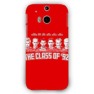 EYP Manchester United Giggs Beckham Scholes Back Cover Case for HTC One M8 Eye