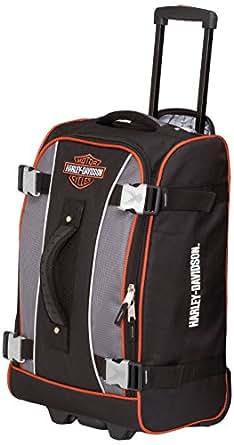Harley Davidson 29 Inch Hybrid Luggage, Gray/Black, One Size