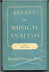 "francis tovey essays Perhaps the cruelest remark ever made about berlioz came from mendelssohn, who said that what was so philistine about berlioz was that ""with all his efforts to go stark mad he never once succeeds"" donald francis tovey, who quotes this in his essay on berlioz's harold in italy, comments that ""from its."