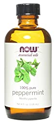 NOW Foods Essential Oils Peppermint -- 4 fl oz (Pack of 2)