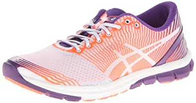 ASICS Women's Gel-Lyte33-3 Running Shoe,Grape/White/Hot Coral,11.5 M US