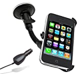 In Car Holder &amp; Charger   iPhone 3G/3GS phones 