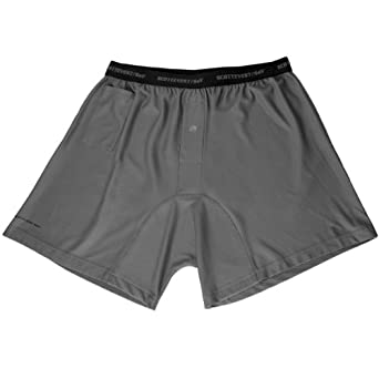 SCOTTEVEST Travel Boxers 2.0 (M, GRAY)