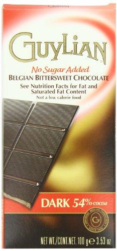 guylian-dark-chocolate-no-sugar-added-bar-353-oz-boxes-pack-of-6
