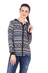 Vvoguish Regular Fit Black Long Sleeves Shirt-VVSHT804PNTBLK-L