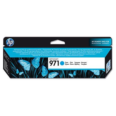 HP OfficeJet Pro X 576 dw - Original HP CN622AE / 971 - Cartouche d'encre Cyan - 2500 pages