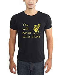 LaCrafters Mens Tshirt - Football - Liverpool Collection(Black)