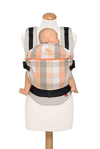 Manduca-222-10-16-003-Baby-und-Kindertrage-Bauch-Hft-und-Rckentrage-100-Bio-Baumwolle-Limited-Edition-VividOrange