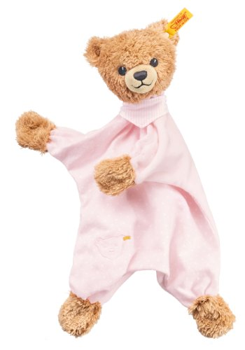 Steiff Sleep Well Bear Comforter, Pink front-894297
