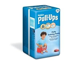 Huggies Pull-Ups Disney Cars Design Size 6 (35+ lbs/16+ kg) Nappies - 6 x Packs of 12 (72 Pants)