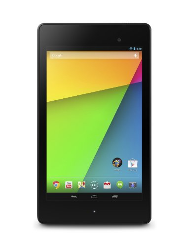 Asus Nexus 7 1A020A 17,7 cm (7 Zoll) Android Tablet PC (Qualcomm Snapdragon S4 Pro 8064, 1,5GHz, 2GB RAM, 16GB HDD, Adreno 320, Android, Touchscreen) schwarz - Modell 2013