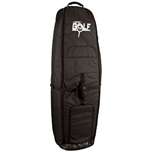 Liquid Force 2014 Wheeled Golf Board Bag (Black) Wakeboard Bags by Liquid Force