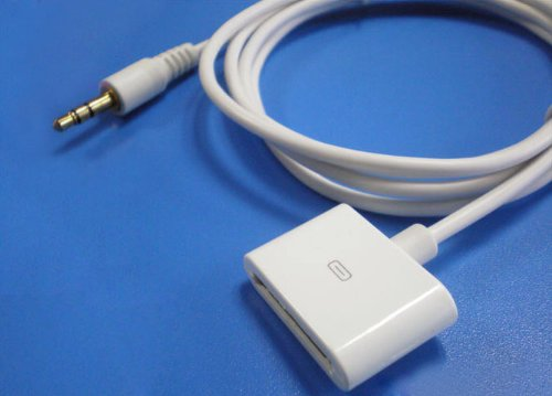 T&J Exclusives® Audio Ipod Iphone Input Converter To Regular Mp3 Plug - Ipod Iphone Female End To 3.5Mm Male Plug Cable