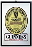 Guinness - Bar Mirror (Size: 9'' x 12'')