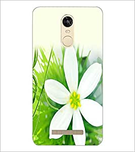 PrintDhaba Flower D-2435 Back Case Cover for XIAOMI REDMI NOTE 3 (Multi-Coloured)