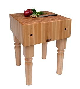 John Boos Ab Maple Butcher Block, 18 by 18 by 10-Inch