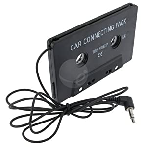 CAR CASSETTE TAPE ADAPTER for IPOD TOUCH IPHONE 4G OS 4 [Electronics]