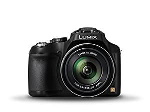 Panasonic Lumix 12.1 MP Digital Camera with CMOS Sensor and 24x Optical Zoom - Black