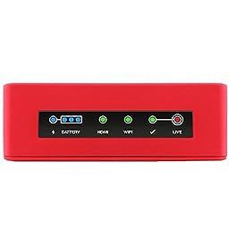 Livestream Broadcaster Mini HDMI Camera Live Streaming Device, 5GHz Wi-Fi