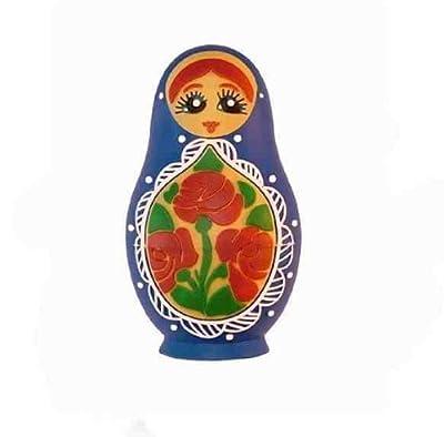 Russian Doll 4GB USB Flash Memory Drive BLUE by EASYWORLD