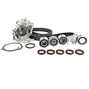 eccpp timing chain kit and water pump with gasket for 02