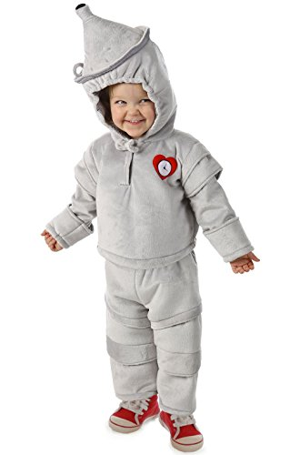 [Mememall Fashion Wizard of Oz Tin Man Cuddly Infant/Toddler Costume] (Wicked Jester Deluxe Adult Mens Costumes)