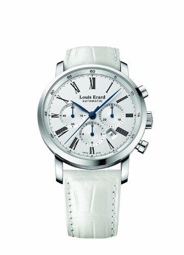 Louis Erard 84234AA01.BDC94 - Reloj de pulsera mujer, piel, color blanco