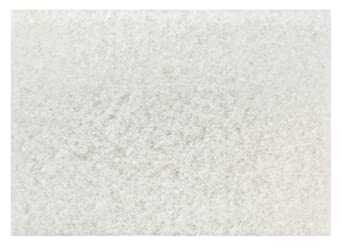 3M 4100 White Super Polish Pad (Case of 10)