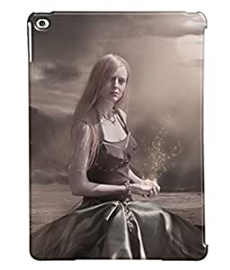 Fuson Loney Girl Back Case Cover for APPLE IPAD AIR 2 - D4110