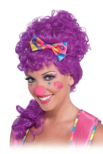 Forum Novelties Women's Circus Sweetie Rainbow Eyelashes, Multi, One Size - 1
