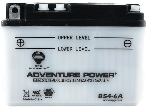 UPG 41528 B54-6a Conventional Power Sports Battery