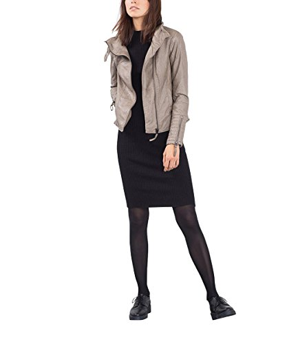 ESPRIT 096EE1G046, Giacca Donna, Marrone (Taupe), 44