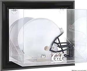 California Bears Framed Logo Wall Mountable Helmet Display Case by Sports Memorabilia